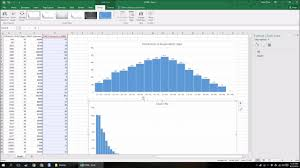 how to make a histogram in excel how to make a histogram in excel 2016