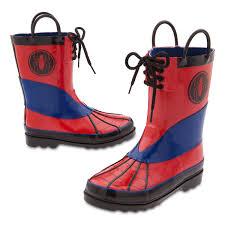 spider man rain boots kids shopdisney