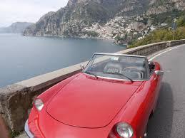Alfa Romeo Spider 1970 - Car hire amalfi coast - car rental ...