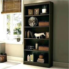 black wooden bookcases dark bookshelf inspiring wood solid oak furniture mart center cherry wall shelves w