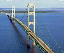 Suspension Bridge Model Design Mackinac Bridge Wikipedia