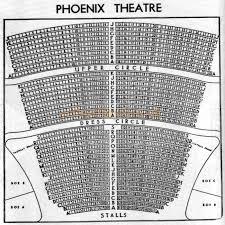 Phoenix Theater London Seating Chart The Phoenix Theatre Charing Cross Road Wc2