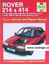 rover service repair manuals download pdf files from cardiagn com Rover 25 Wiring Diagram Pdf rover 214 & 414 petrol haynes service and repair manual Lennox Wiring Diagram PDF