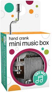 Purchase a music box mechanism kit. Ideas In Life Mini Music Box Learning Mechanism For Kids Hand Crank Music Box