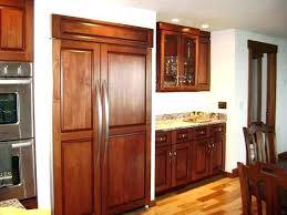 wood panel refrigerator. Modren Refrigerator Wood Panel Refrigerator Panels Outstanding  With Front Custom Fridge Intended Wood Panel Refrigerator I