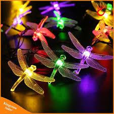Light Source Christmas Lights Hot Item Solar Christmas Lights 30 Led Solar Dragonfly Fairy String Lights