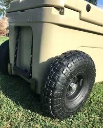 yeti cooler wheels diy