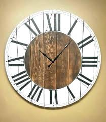 large rustic wall clock oversize wall clocks oversized wall clocks target oversized wall clocks like this