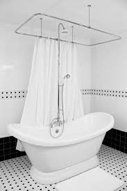 HLSLPD57SHPK 57Free Standing Tub With Shower
