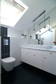 pitched ceiling lighting. Sloped Ceiling Lighting Adapter Powder Room Contemporary With Angled . Pitched