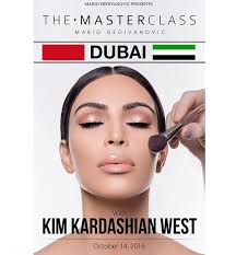 middle east exclusive makeup mastercl by mario dedivanovic