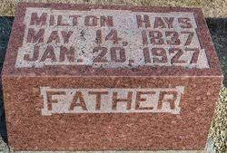 Milton Hays (1837-1927) - Find A Grave Memorial