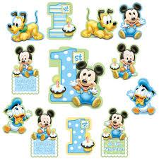 mickey mouse 1st cutouts 12 pk