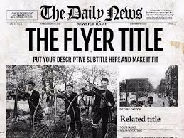 Newspaper Template For Photoshop Indesign Newspaper Template By Ted8 Teaching Resources Tes