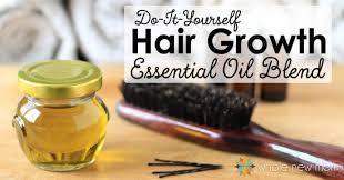 diy essential oils for hair loss blend