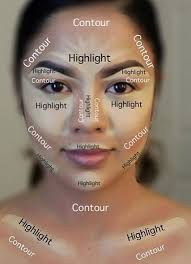 contour make up image for more information about beauty face contouring tutorial