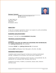 Resume On Google Docs Template Simple One Page Resume Template Sample Format Word 87
