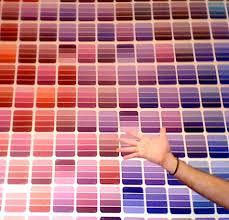 Diy Paint Color Chart Diy Idea Paint Strip Wall Decoration Design Sponge