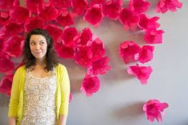 How To Make Paper Flower Backdrop 28 Fun And Easy To Make Paper Flower Projects You Can Make