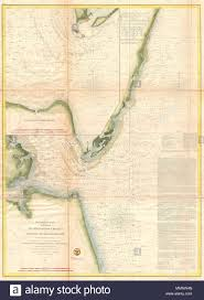Upper Chesapeake Bay Chart English An Uncommon Nautical Chart Or Map Of The Entrance