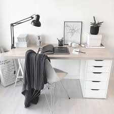 ikea white office furniture. Best 25 Ikea Desk Ideas On Pinterest Desks Study Throughout Office Plans 15 White Furniture L