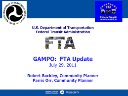 Gdot Org Chart Robert Buckley And Parris Orr Fta Update