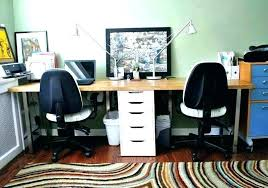 Office desk for two Freelance Graphic Designer Home Office Desk For Two Person Desk For Home Office Two Person Desk Person Home Office Desk For Two Digitaldarqinfo Home Office Desk For Two View In Gallery Digitaldarqinfo