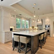 Kitchen Island With Seating Communal Setups Top List Of New Kitchen Trends Cabinets Kitchen