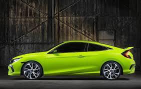 honda civic 2016 si. menurut rencana honda civic 2016 yang sedang dirancang dan dikembangkan di amerika ini akan tersedia dalam varian coupe sedan serta didukung si