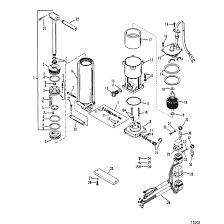 Genuine mercury mercruiser parts power trim ponents single