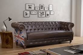 Living Room With Chesterfield Sofa Leather Wood Sofa Furniture Ideas For Living Room On Sofas Home