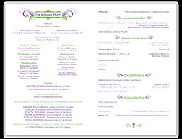 sample wedding ceremony program wedding program wording absent grandparents svapop wedding