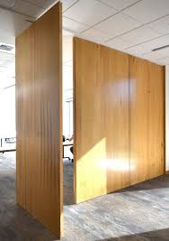 extraordinary temporary wall divider archive non warping patented honeycomb panel and 10 ft x 5 2 25 inch pivot sliding door maple wooden room ikea with diy