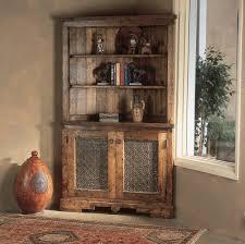 custom spanish style furniture. Custom Corner Hutch: Southwest Furniture, Santa Fe Style: Spanish Craftsmen Style Furniture O