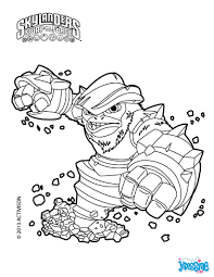 Skylanders Swap Force Coloring Pages Freeze Blade Coloring Pages