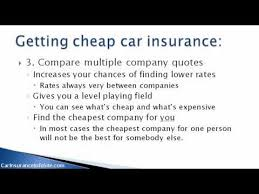 Car Insurance Quotes Florida How To Find A Cheap Quote YouTube Beauteous Auto Insurance Quotes Florida