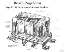 12 volt generator voltage regulator wiring diagram 12 bosch electrical parts for 356 porsches on 12 volt generator voltage regulator wiring diagram