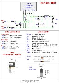 radio transmitter and receiver circuit diagram pdf modern design robert s gadgets gizmos wireless rf projects rh bpesolutions com wireless microphone transmitter and receiver circuit