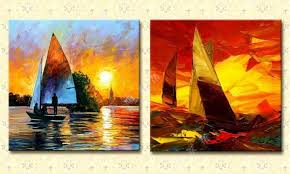 abstract oil painting landscape oil painting modern oil painting