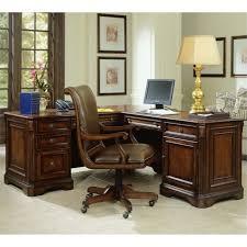 Hooker Furniture Brookhaven Executive L Shaped puter Desk 281
