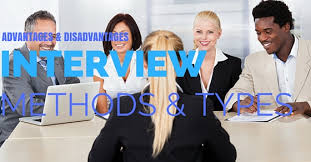 Job Interview Types Interview Methods And Types Advantages And Disadvantages