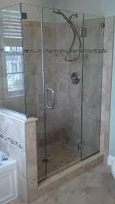 hinged shower door hinged shower door sliding