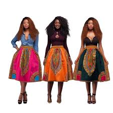 African Skirts Patterns Magnificent 48 New Style African Womens Skirt Girl Printed Dashiki