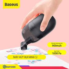 Máy hút bụi cầm tay Baseus Mini C2 công cụ làm sạch máy tính, bàn làm việc  lực hút 1000Pa - Smart Ones