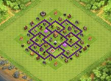 Base 7 Th7 Trophy Base Layouts Top 1000 Clash Of Clans Tools