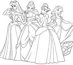 Disney Princess Coloring Pages Sandrasteffencom