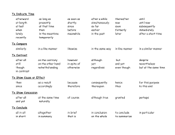 55 Transitional Words For Essays, Transition Wordsgreat To Run Off ...