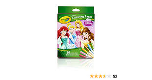 All of it in this site is free, so you can print them as many as you like. Amazon Com Crayola Crayola Mini Coloring Pages Disney Princess Toy Toys Games