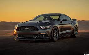 Black Ford Mustang Car HD wallpaper ...
