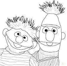 Sesame Street Printable Coloring Pages Free Characters Templates
